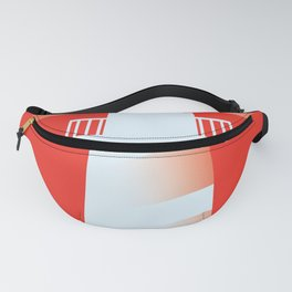 Lighthouse (RED) Fanny Pack