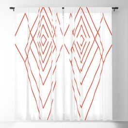 Shield - Red Blackout Curtain