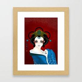 GeishaDoll Framed Art Print