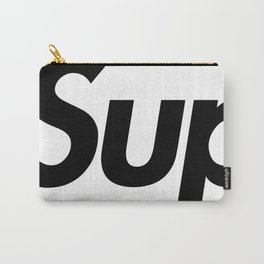 Supreme Black Letters Carry-All Pouch