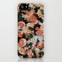 Pink Flowers iPhone Cover iPhone Case
