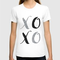 xoxo T-shirts featuring XOXO by Indulge My Heart