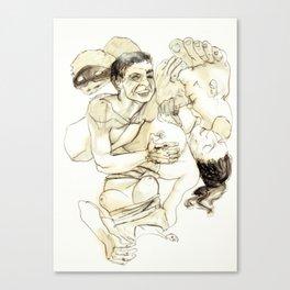 Tristan Corbière, Thick Black Trace, Elizir d'amor Canvas Print