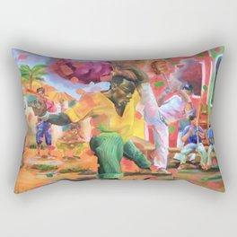 Origins of Capoeira Rectangular Pillow