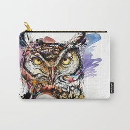 Owl Sounds Carry-All Pouch