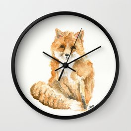 Phineas the Fox Wall Clock