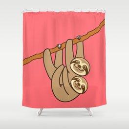 Cute Sloth!! Shower Curtain