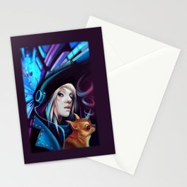 Cosmic Rays Stationery Cards
