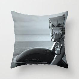 American motorcycle. Throw Pillow