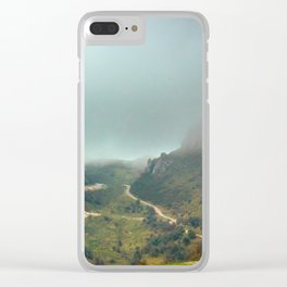 Peaks of Europe Clear iPhone Case
