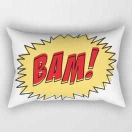 COMIC BOOK BAM Pop Art by BruceALMIGHTY Rectangular Pillow
