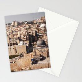 Temple Mount, Old City of Jerusalem Stationery Cards