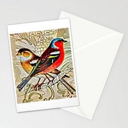 BRIGHT BIRDIES Stationery Cards