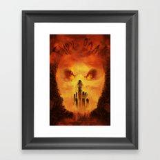 Immortan's Land Framed Art Print