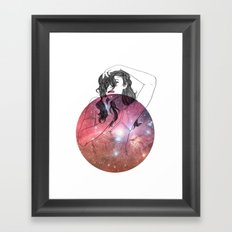 We are All Made of Stardust #2 Framed Art Print
