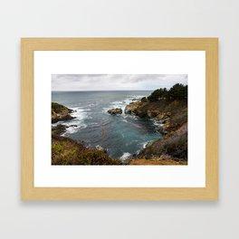 California Coastline Framed Art Print