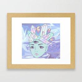 Star Child Framed Art Print