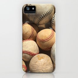 Baseball Obsession iPhone Case