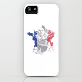 Merckx France iPhone Case