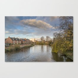 The River Severn Canvas Print