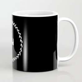 And Print, And Sign, Not Ampersand And, laurel leaves, typography Coffee Mug
