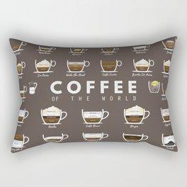 Coffee Chart Rectangular Pillow
