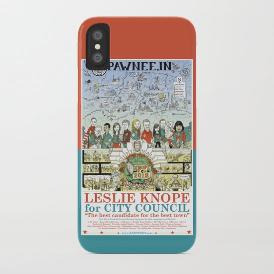 Leslie Knope for City Council - Parks and Recreation Dept. iPhone Case