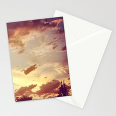 red clouds Stationery Cards