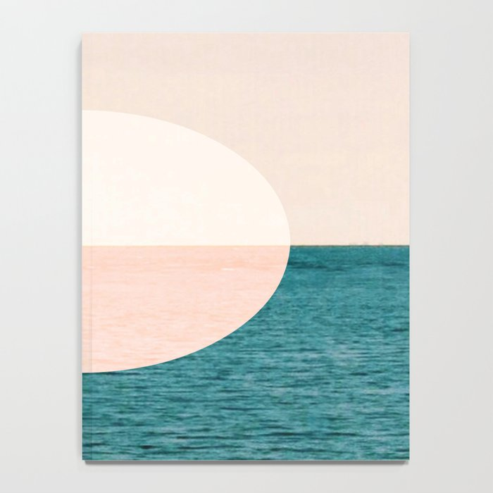 Geometric Sunset Notebook