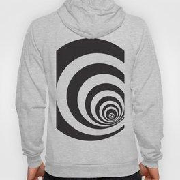 Black&White Spirally Hoody