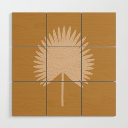 Palm Leaf Wood Wall Art