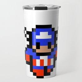 Captain Pixel Travel Mug