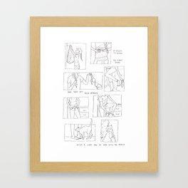 War with the World Framed Art Print