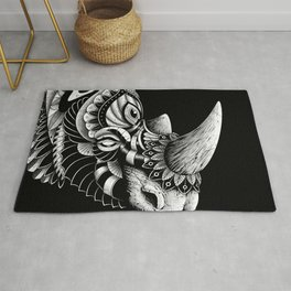 Rhino Ornate Rug