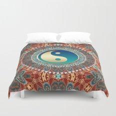 Bohemian Batik Yin Yang Duvet Cover