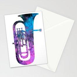 euphonium music Stationery Cards