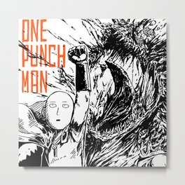 Punch Metal Print