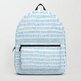 Blue grass - a handmade pattern Backpack