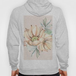 Country Cactus Coral Roses Hoody