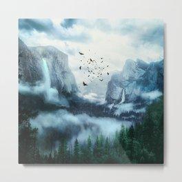 Mountain Morning 3 Metal Print