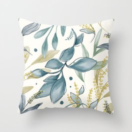 Winter Hues Throw Pillow