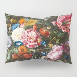 Vase with flowers - Jan Davidsz. de Heem (1670) Pillow Sham