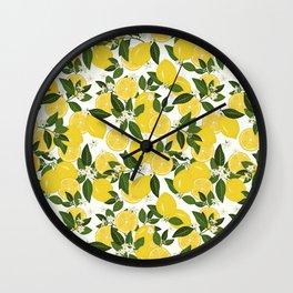 Summer Punch Wall Clock