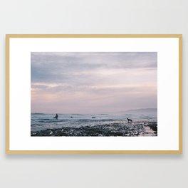 Sands Beach, Isla Vista, CA. Framed Art Print