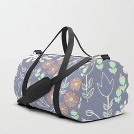 Winter Blooms Duffle Bag