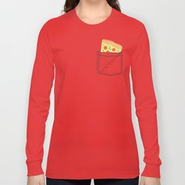 Emergency supply - pocket pizza Long Sleeve T-shirt