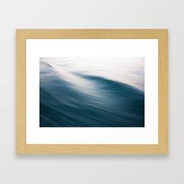Water flowing Framed Art Print
