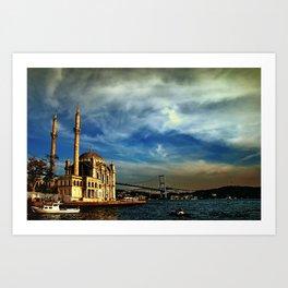 Bridge to your soul Art Print