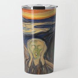 Edvard Munch The Scream Travel Mug