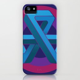 Tri-Tip Mobius Strip iPhone Case